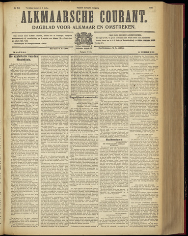 Alkmaarsche Courant 1928-02-06