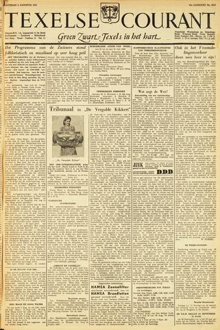 Texelsche Courant 1952-08-02