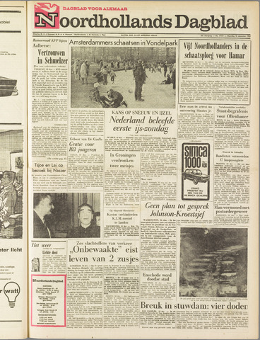 Noordhollands Dagblad : dagblad voor Alkmaar en omgeving 1963-12-16