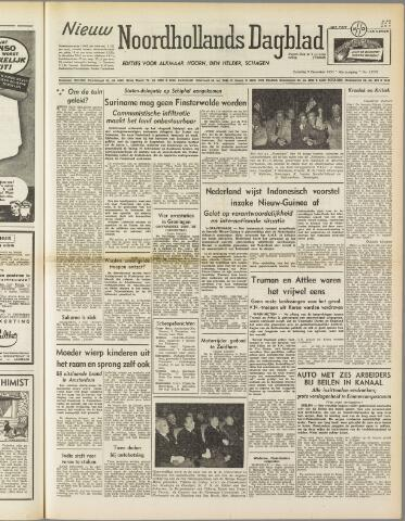 Nieuw Noordhollandsch Dagblad : voor Alkmaar en omgeving 1950-12-09