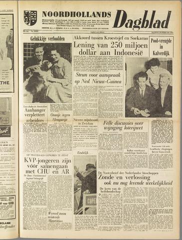 Noordhollands Dagblad : dagblad voor Alkmaar en omgeving 1960-02-29