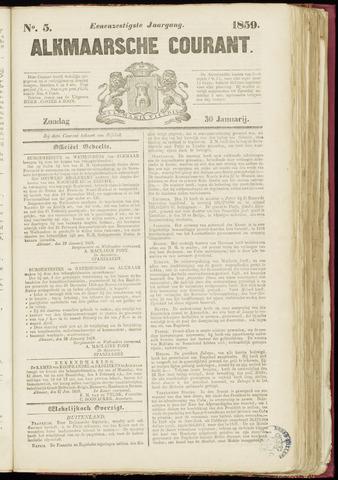 Alkmaarsche Courant 1859-01-30