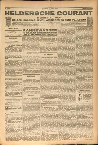 Heldersche Courant 1928-04-24