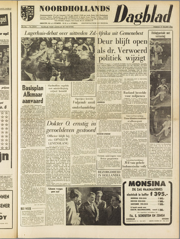 Noordhollands Dagblad : dagblad voor Alkmaar en omgeving 1961-03-17