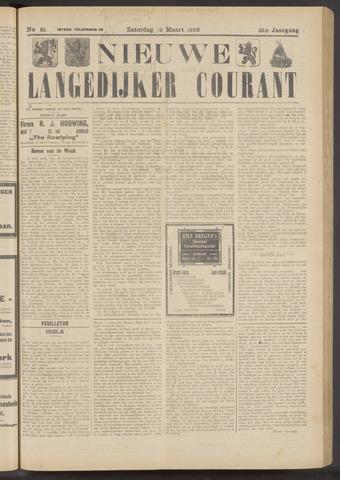 Nieuwe Langedijker Courant 1926-03-13