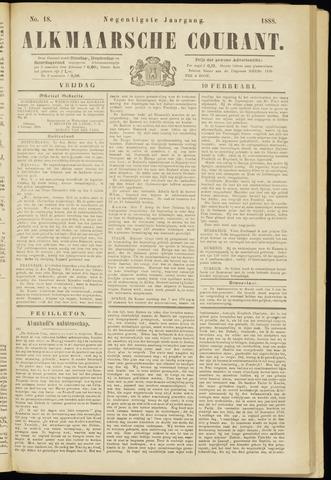 Alkmaarsche Courant 1888-02-10