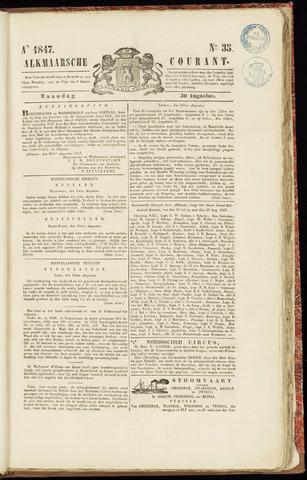 Alkmaarsche Courant 1847-08-30