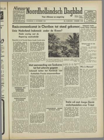 Nieuw Noordhollandsch Dagblad : voor Alkmaar en omgeving 1946-11-13