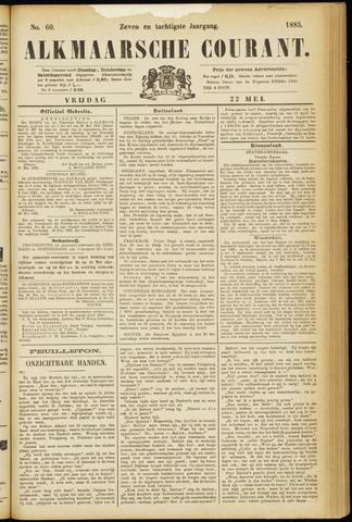 Alkmaarsche Courant 1885-05-22