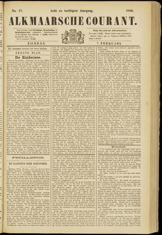 Alkmaarsche Courant 1886-02-07
