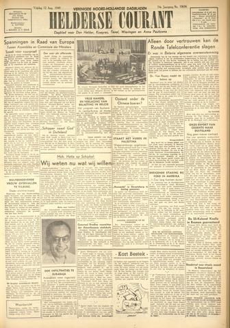 Heldersche Courant 1949-08-12