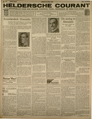 Heldersche Courant 1936-04-21