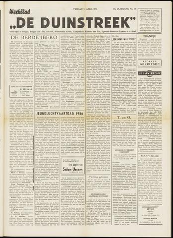 De Duinstreek 1956-04-13