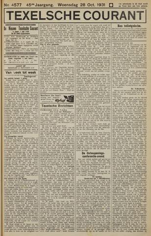Texelsche Courant 1931-10-28