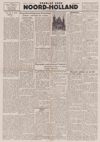 Dagblad Noord-Holland, Schager editie 1944-01-15
