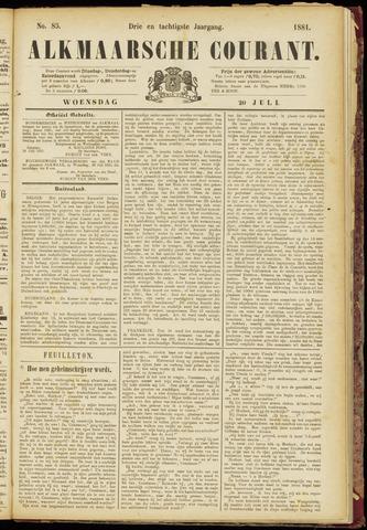 Alkmaarsche Courant 1881-07-20