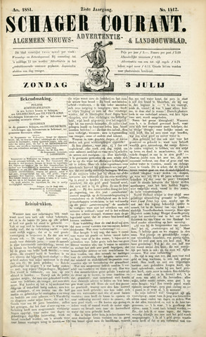 Schager Courant 1881-07-03