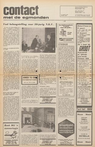 Contact met de Egmonden 1971-10-13