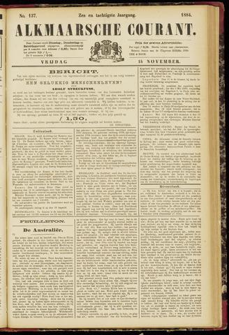 Alkmaarsche Courant 1884-11-14