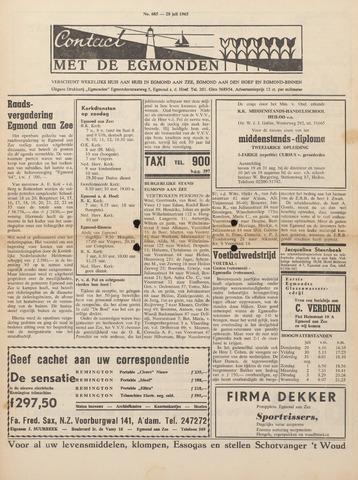 Contact met de Egmonden 1965-07-28