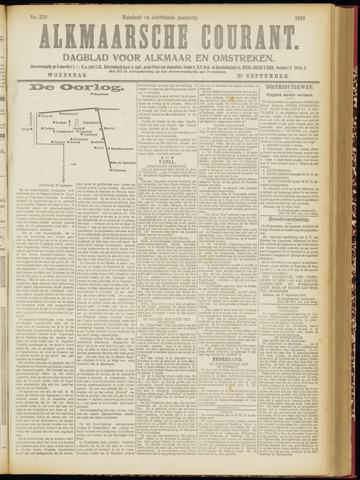 Alkmaarsche Courant 1916-09-27