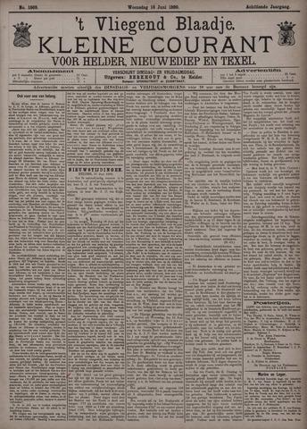 Vliegend blaadje : nieuws- en advertentiebode voor Den Helder 1890-06-18