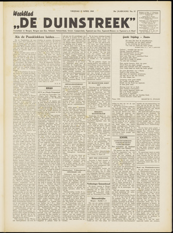 De Duinstreek 1949-04-15