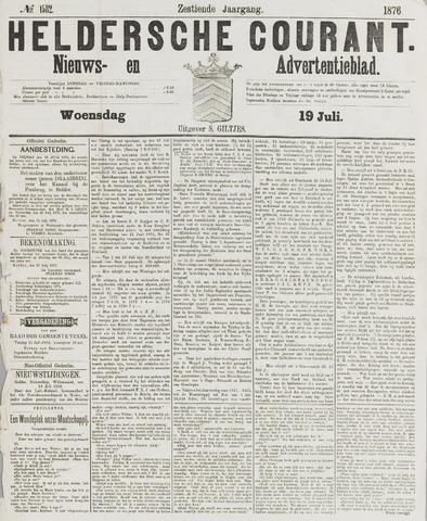 Heldersche Courant 1876-07-19