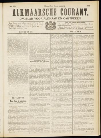 Alkmaarsche Courant 1908-10-01
