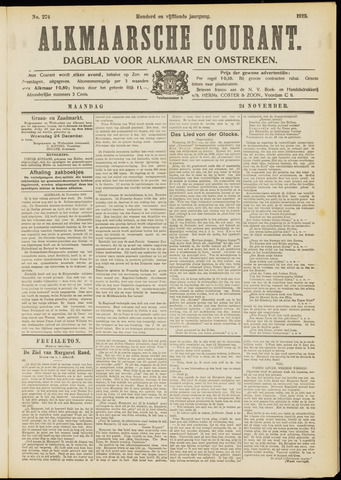 Alkmaarsche Courant 1913-11-24