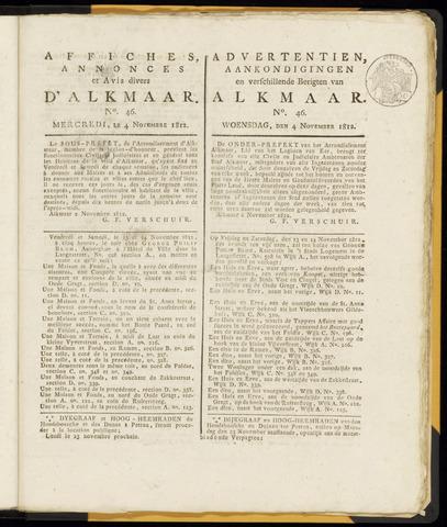 Alkmaarsche Courant 1812-11-04