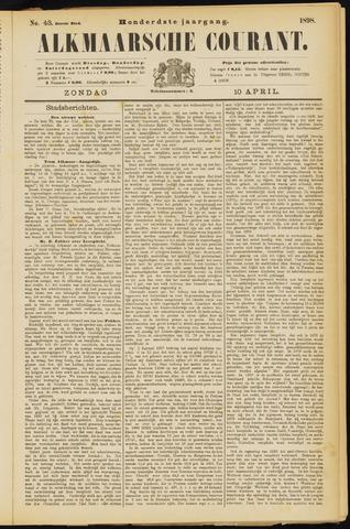 Alkmaarsche Courant 1898-04-10