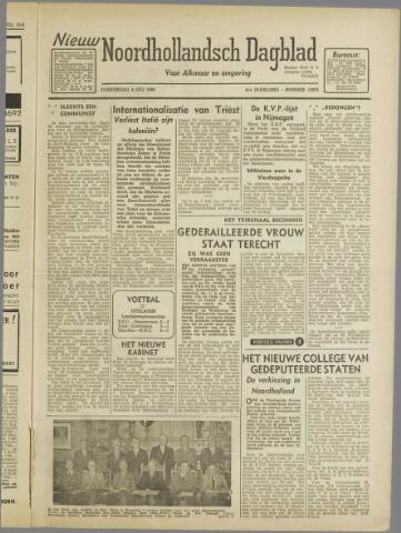 Nieuw Noordhollandsch Dagblad : voor Alkmaar en omgeving 1946-07-04
