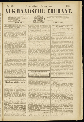 Alkmaarsche Courant 1888-10-28