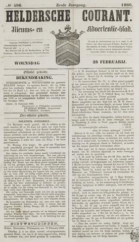 Heldersche Courant 1866-02-28