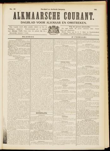 Alkmaarsche Courant 1911-02-27