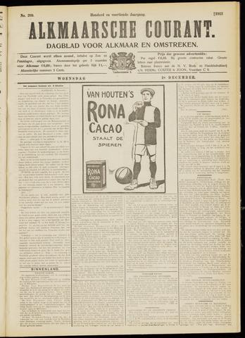Alkmaarsche Courant 1912-12-18