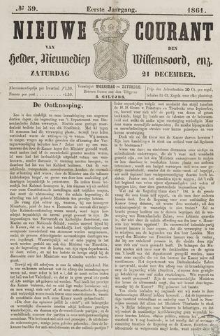 Nieuwe Courant van Den Helder 1861-12-21