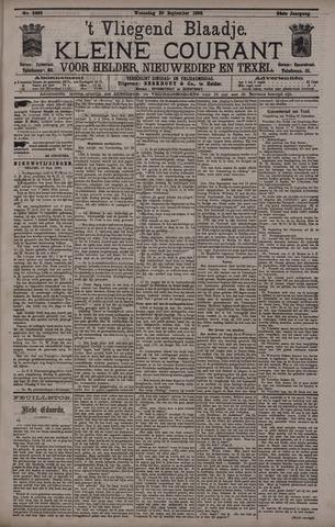Vliegend blaadje : nieuws- en advertentiebode voor Den Helder 1896-09-30