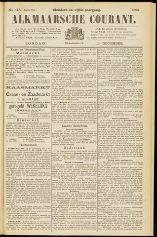 Alkmaarsche Courant 1903-12-13