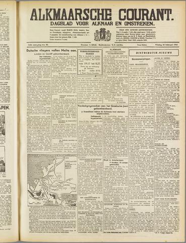 Alkmaarsche Courant 1941-02-28