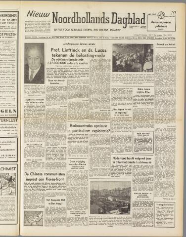 Nieuw Noordhollandsch Dagblad : voor Alkmaar en omgeving 1950-11-03