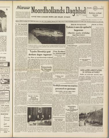 Nieuw Noordhollandsch Dagblad : voor Alkmaar en omgeving 1950-03-21