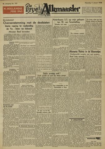 De Vrije Alkmaarder 1948-01-05