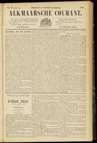 Alkmaarsche Courant 1900-02-11