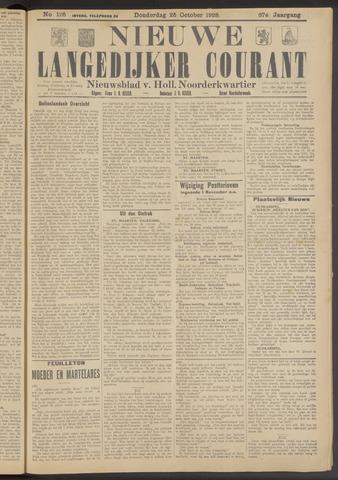 Nieuwe Langedijker Courant 1928-10-25