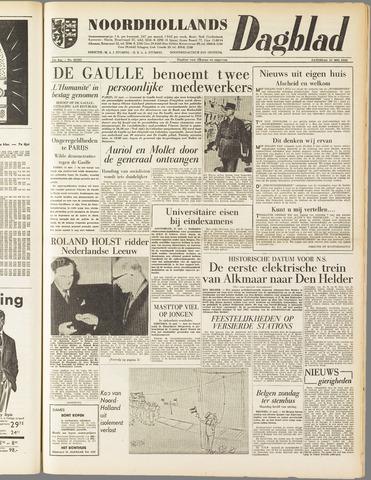 Noordhollands Dagblad : dagblad voor Alkmaar en omgeving 1958-05-31