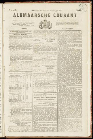 Alkmaarsche Courant 1866-11-18