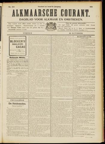 Alkmaarsche Courant 1910-10-28