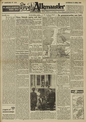De Vrije Alkmaarder 1949-04-23